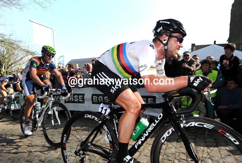 Mark Cavendish in the 2012 Ghent Wevelgem
