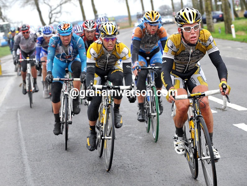 MARK CAVENDISH IN THE 2009 GHENT-WEVELGEM