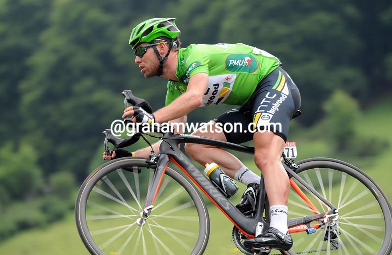 Mark Cavendish in the 2011 Tour de France