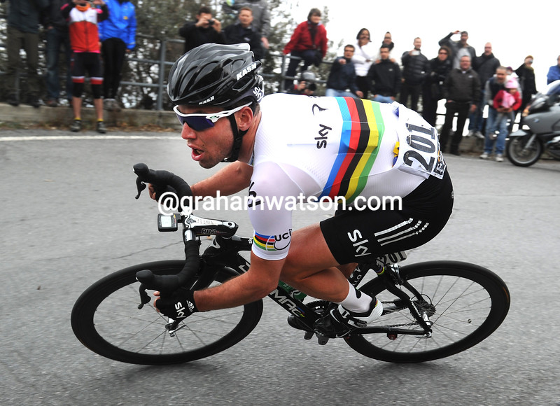 Mark Cavendish in the 2012 Milan San Remo