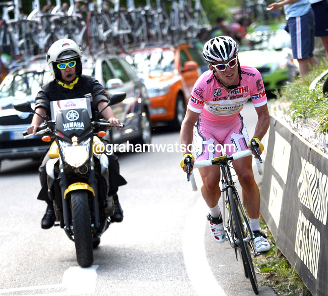MARK CAVENDISH ON STAGE THREE OF THE 2009 GIRO D'ITALIA
