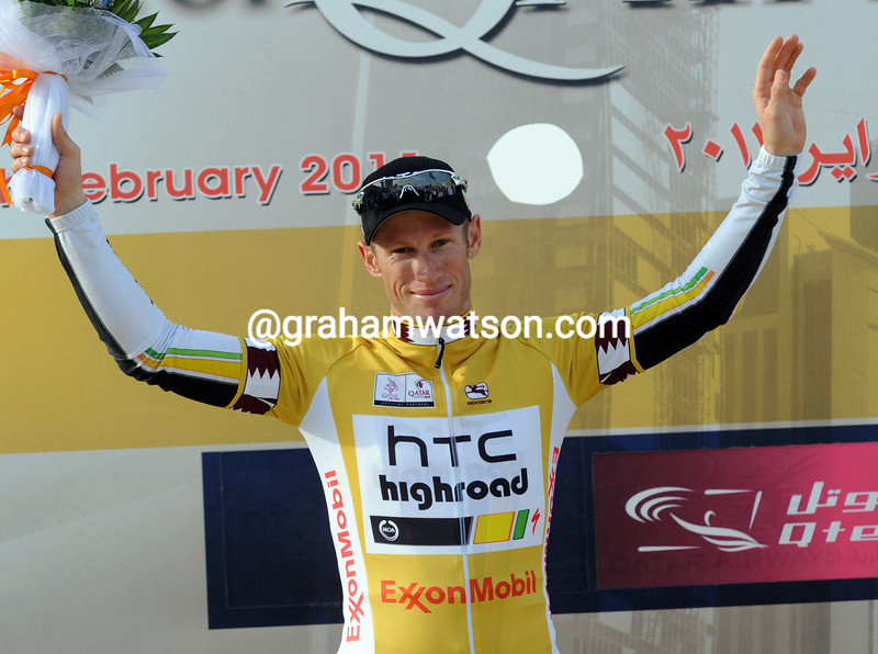 MARK RENSHAW WINS STAGE FOUR OF THE 2011 TOUR OF QATAR
