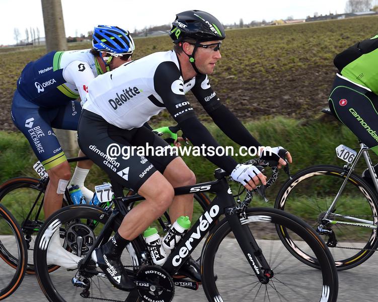 Mark Renshaw in the 2016 Ghent-Wevelgem