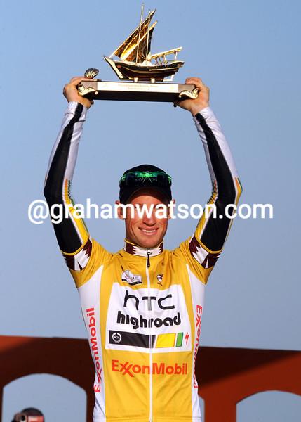 MARK RENSHAW WINS THE 2011 TOUR OF QATAR