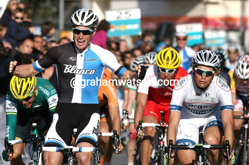 Mark Renshaw wins the 2013 Clasica Almeria