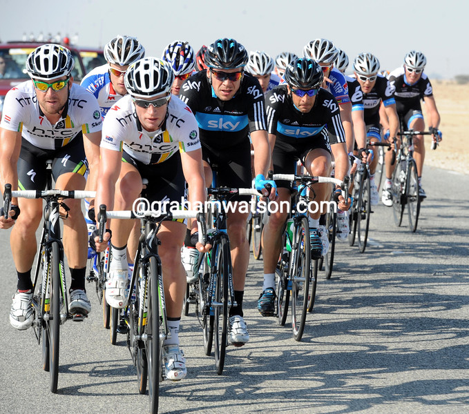 Mark Renshaw ON STAGE ONE OF THE 2011 TOUR OF QATAR