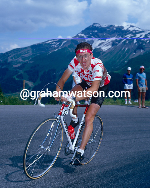 Martin Earley in the 1988 Tour de France