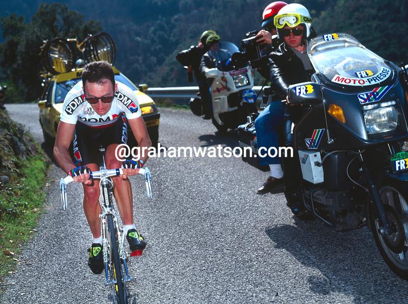 Martin Earley in the 1990 Paris-Nice