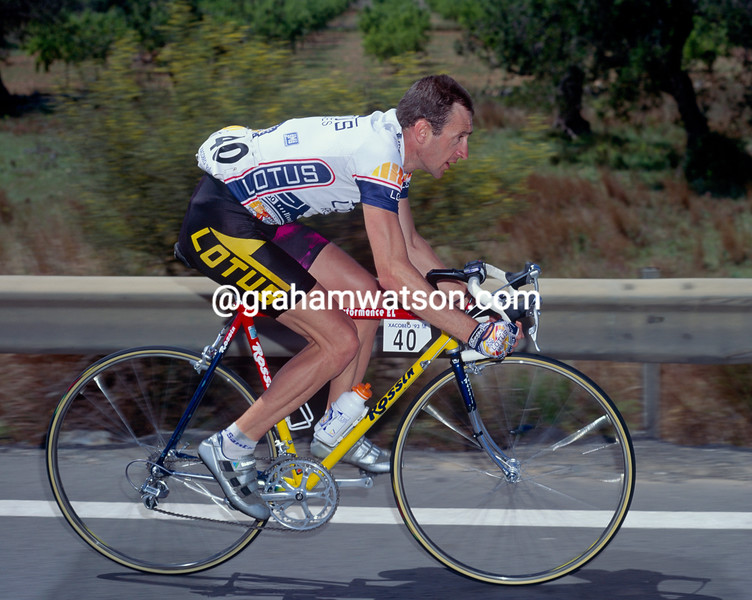 Martin Earley in the 1992 Tour of Spain