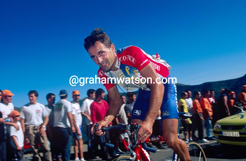 Massimiliano Lelli in the 1999 Tour de France