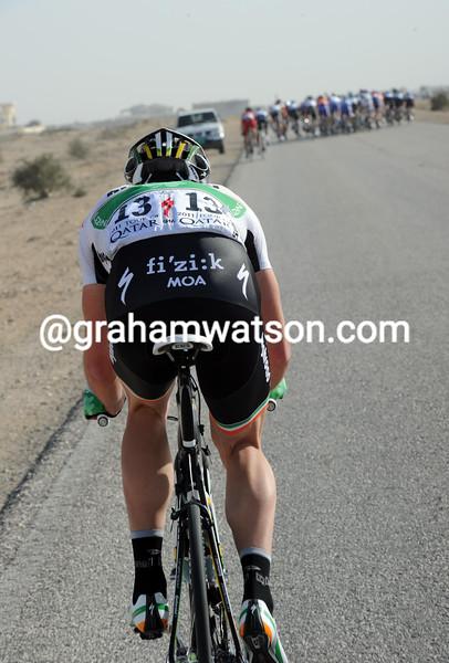 MATTHEW BRAMMEIER IS DROPPED IN THE 2011 TOUR OF QATAR