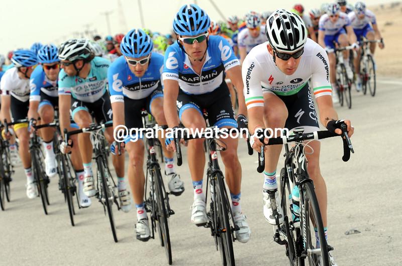 Matt Brammeier on stage three of the 2012 Tour of Qatar