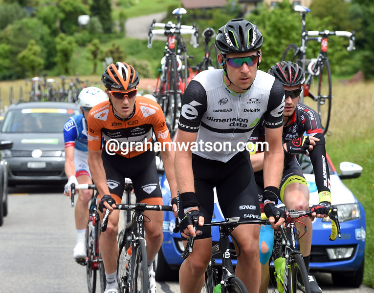 Matt Brammeier in the 2016 Tour de Suisse