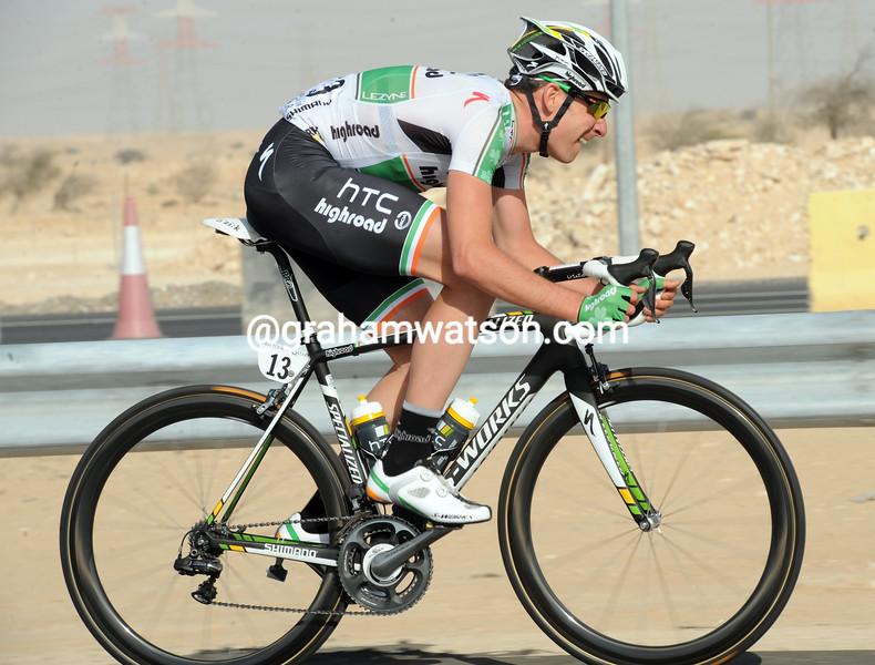 MATT BRAMMEIER INTHE 2011 TOUR OF QATAR