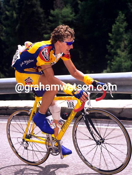 Matt Stephens in the 2000 Giro d'Italia