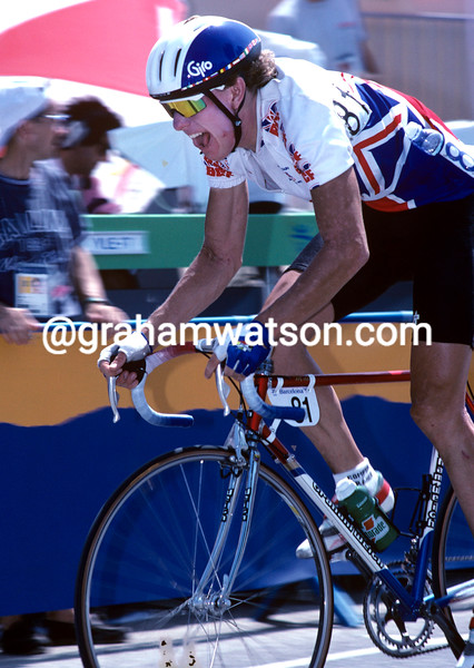 Matt Stephens at the 1992 Olympic games