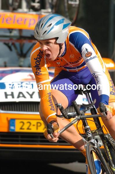 MATTHEW HAYMAN IN THE 2005 Paris-Nice