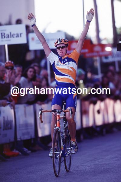 Matthew Hayman wins in Mallorca in 2001