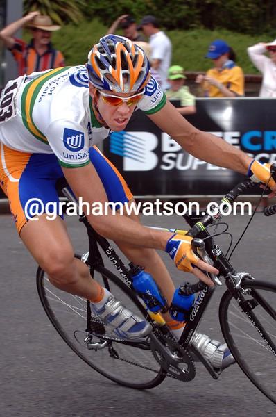 Matthew Hayman in the 2006 Tour Down Under