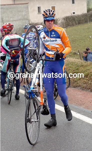 MATTHEW HAYMAN IN THE 2004 Paris-Nice