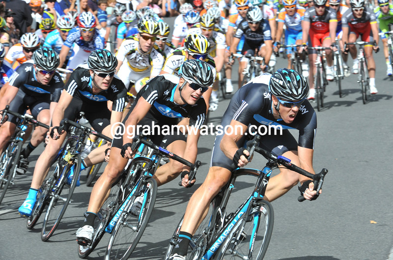 Matthew Hayman and THE SKY TEAM IN THE 2010 CANCER CLASSIC