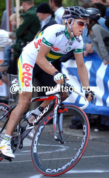 MATTHEW LLOYD IN THE 2007 WORLD CHAMPIONSHIPS