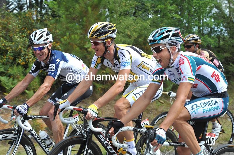 matthew lloyd in the 2010 Tour de France
