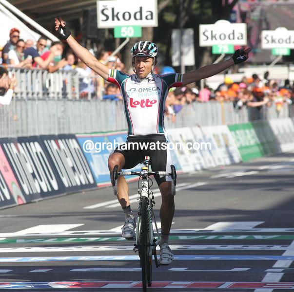 MATTHEW LLOYD WINS STAGE SIX OF THE 2010 GIRO D'ITALIA