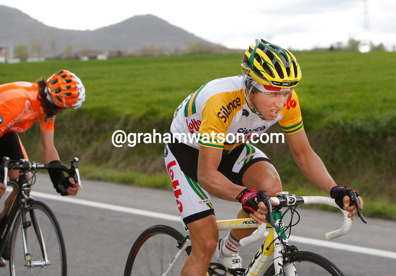 MATTHEW LLOYD IN THE 2008 TOUR OF THE BASQUE COUNTRY