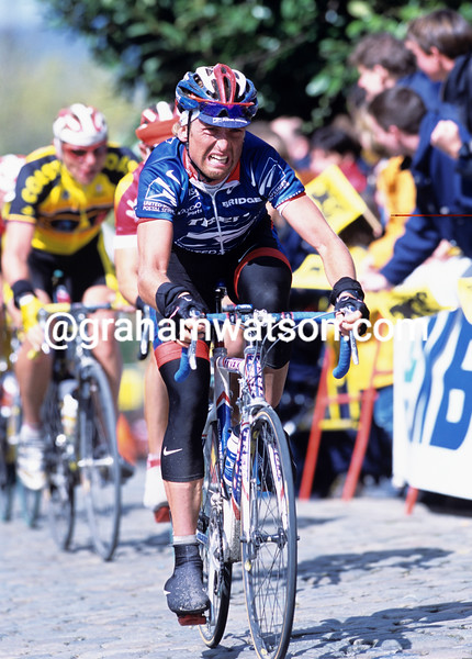 Matthew White in the 2002 Tour of Flanders
