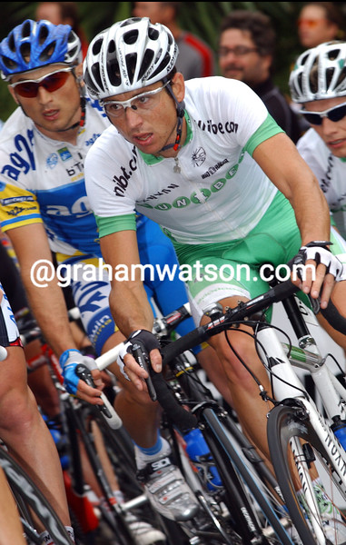 MATTHEW WILSON ON STAGE FIVE OF THE TOUR DOWN UNDER