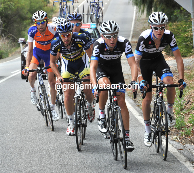 MATTHEW WILSON AND CAMERON MEYER LEAD AN ESCAPE IN THE 2011 TOUR DOWN UNDER