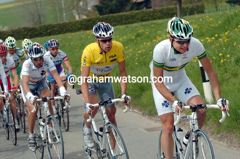 Matthew Wilson in the 2004 Tour De Romandie