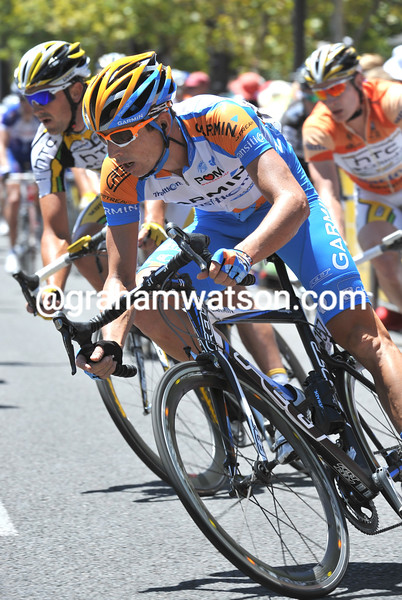 MATTHEW WILSON ON STAGE SIX OF THE TOUR DOWN UNDER