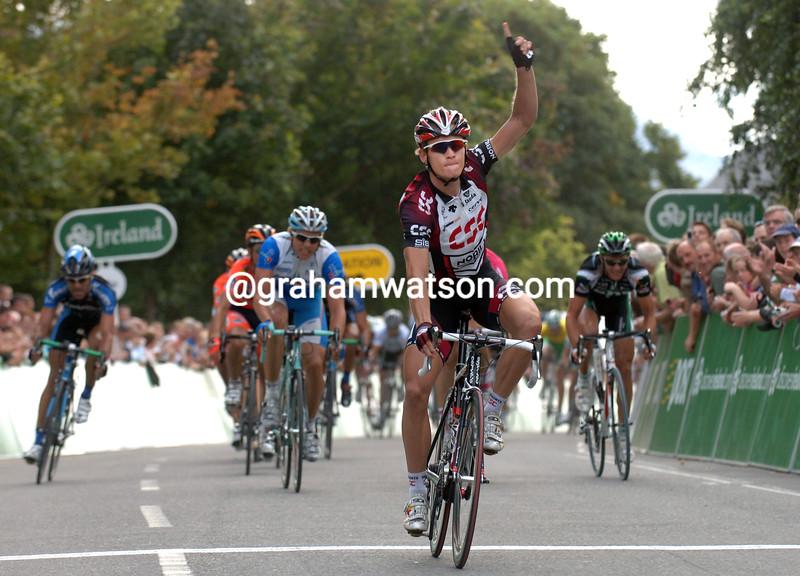 MATTI BRESCHEL WINS STAGE TWO OF THE 2007 TOUR OF IRELAND