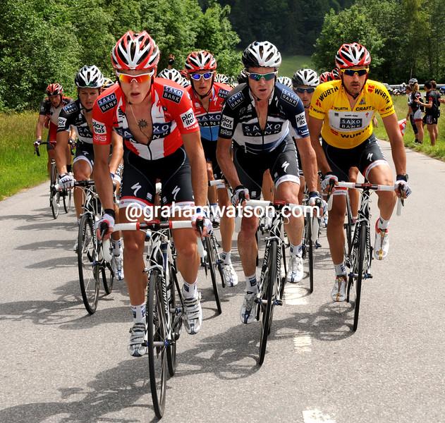 MATTI BRESCHEL IN THE 2006 tour de suisse