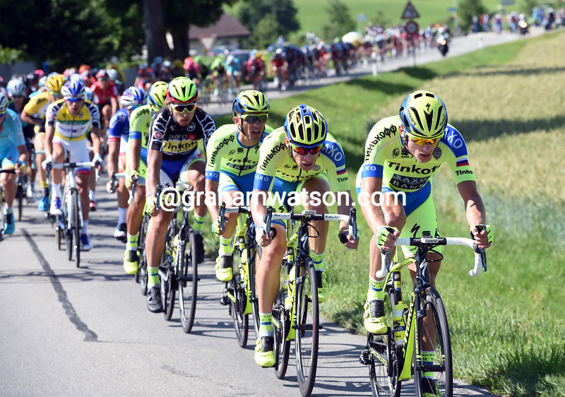 Matti Breschel and Tinkoff in the 2015 Tour de Suisse