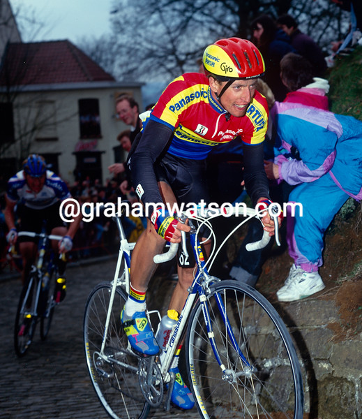 Maurizio Fondriest in the 1992 Tour of Flanders