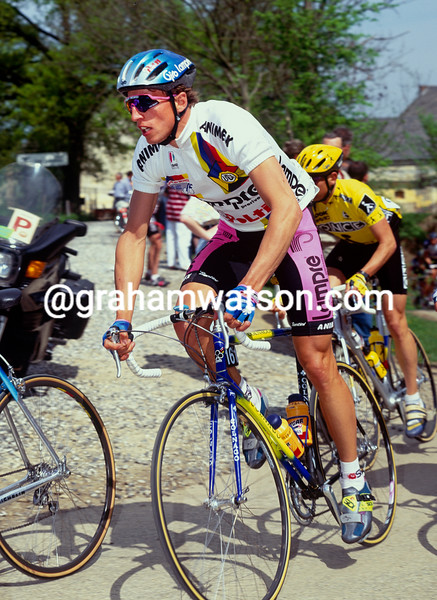 Maurizio Fondriest in the 1993 Amstel Gold Race