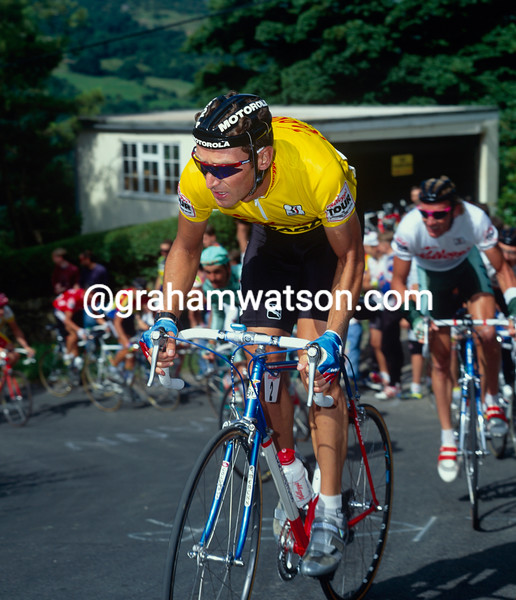 Max Sciandri in the 1992 Kellogg's Tour