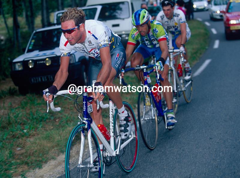 Max Sciandri in the 1995 Tour de France