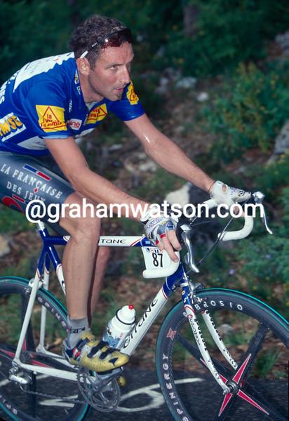Max Sciandri in the 1997 Dauphine-Libere