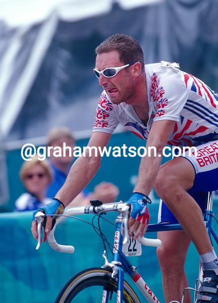 Max Sciandri in the 1996 Olympic Games