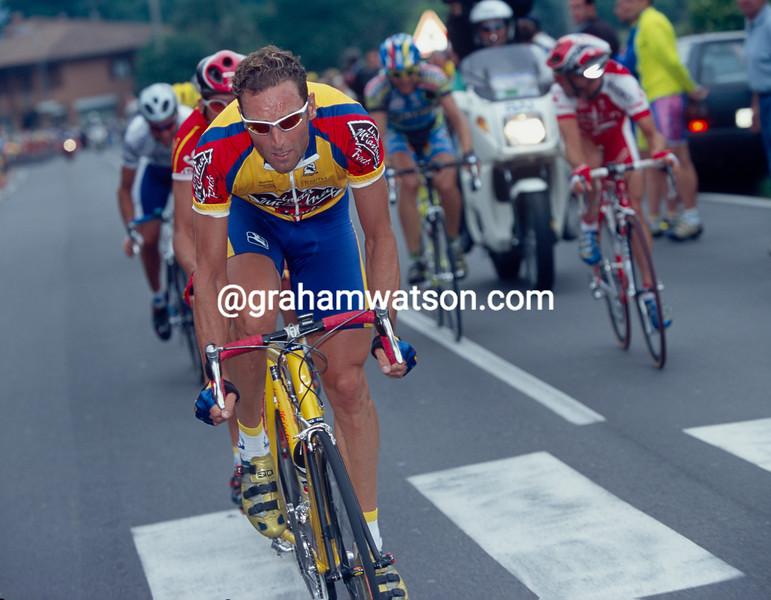 Max Sciandri in the 2000 Giro d'Italia
