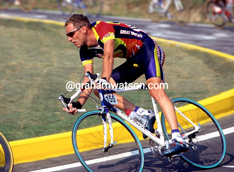 Max Sciandri in the 1999 World Championships