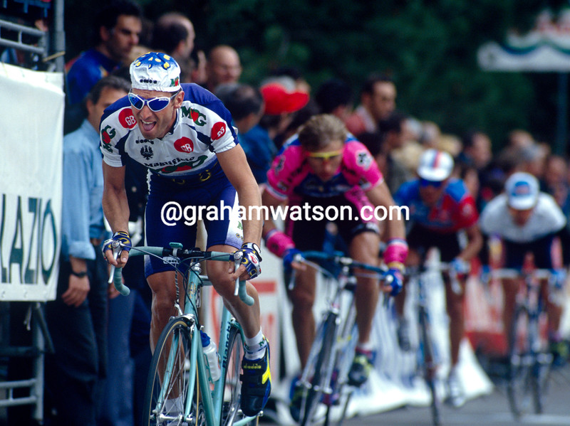 Max Sciandri in the 1995 Giro del Lazio
