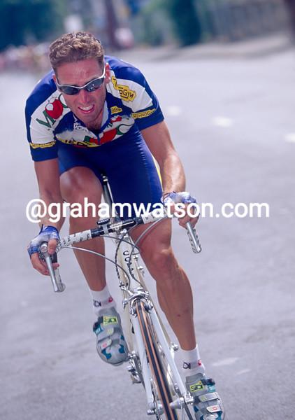 Max Sciandri in the 1996 Leeds Classic