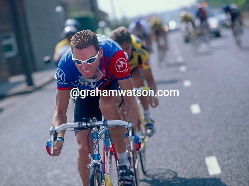 Max Sciandri in the 1995 Leeds Classic