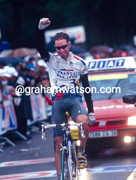 Max Sciandri in the 1997 Tour de France