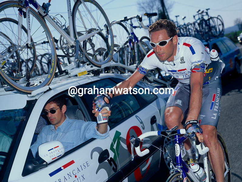 Max Sciandri in the 1997 Tour de France